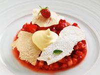Zabaione mit Erdbeeren Rezept