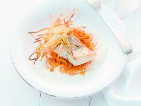 Zander mit Paprika-Sauerkraut