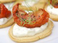 Zaziki-Tomaten-Häppchen Rezept