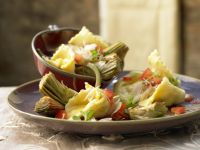Ziegenkäse-Tortellini Rezept