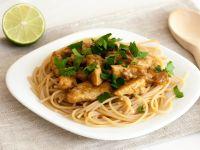 Zitronen-Ingwer-Spaghetti