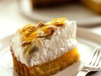 Zitronen-Baiser-Tarte Rezept