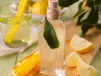 Zitronen-Basilikum-Sirup