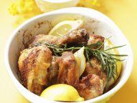 Zitronen Chicken Wings