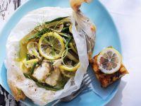 Zitronen-Fisch mit Gemüse