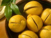 Zitronen in Sirup Rezept