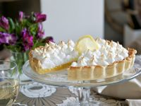 Zitronen-Meringue-Kuchen Rezept