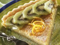 Zitronencremetarte mit Kiwi Rezept