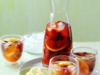Zitroneneistee mit Himbeeren Rezept