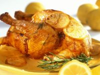 Zitronenhähnchen auf sizilianische Art Rezept