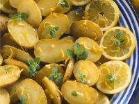 Zitronenkartoffeln Rezept