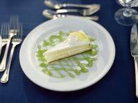 Zitronenkuchen mit Limettensoße Rezept