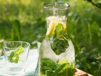 Zitronenlimonade mit Basilikum Rezept