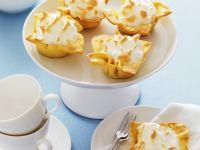 Zitronentörtchen mit Baiser Rezept