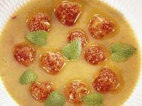 Zucchini-Aprikosensuppe Rezept