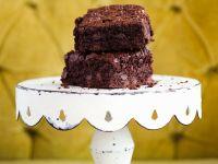 Zucchini-Brownies Rezept