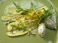 Zucchini-Carpaccio Rezept