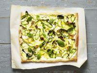 Zucchini-Fladen Rezept