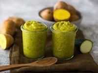 Zucchini-Kartoffel-Haferflocken-Brei Rezept