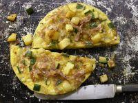 Zucchini-Kartoffel-Tortilla Rezept
