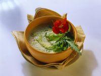Zucchini-Kräutersuppe Rezept