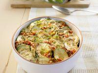 Zucchini-Minz-Gratin Rezept