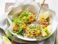 Rösti mit Zucchini und Möhren Rezept