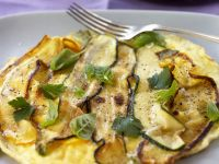 Zucchini-Omelett Rezept