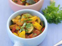 Zucchini-Ratatouille Rezept