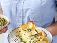 Zucchini-Ricotta-Lasagne Rezept