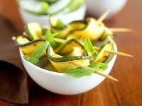 Zucchini-Spieße Rezept