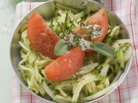 Zucchini-Tomaten-Gemüse Rezept