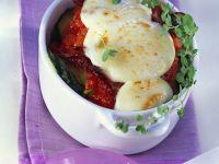 Zucchini-Tomaten-Gratin Rezept