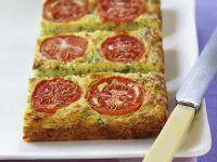 Zucchini-Tomatenkuchen Rezept