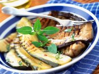 Zucchini und Auberginen vom Grill