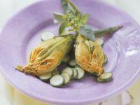 Zucchiniblüten mit Füllung Rezept