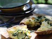 Zucchinikuchen mit Lauch Rezept