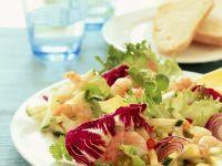 Zucchinisalat mit Garnelen Rezept