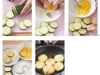 Zucchinischnitzel mit Tomatensalat Rezept