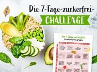 Zuckerfrei-Challenge: Der Ernährungsplan