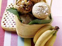 Zweierlei Muffins (Banane und Schoko-Mango) Rezept