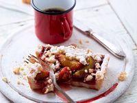 Zwetschgenkuchen mit Kokosstreusel Rezept