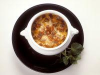 Zwiebel-Käsesuppe Rezept
