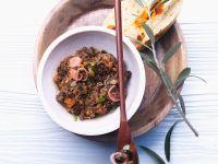 Zwiebel-Oliven-Auftstrich Rezept