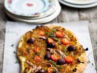 """Zwiebel-Olivenkuchen """"Pissaladiere"""" Rezept"""