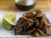 Zwiebel-Rindfleisch Rezept