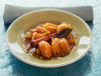 Zwiebeln mit Honig und Safran Rezept