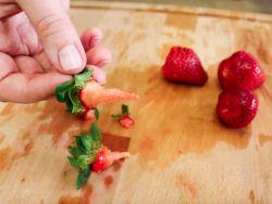 Erdbeerstrunkentferner im Test