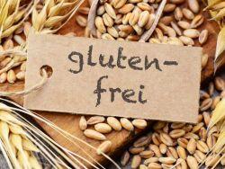 Glutenfrei-Schild