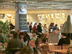 IKEA Restaurant: halbe Portion, halber Preis!